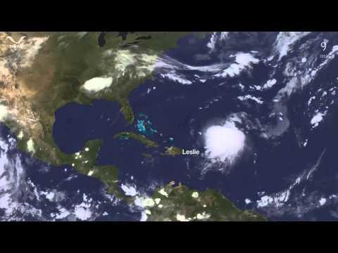 Timelapse: The entire 2012 Atlantic Hurricane Season in under 5 Minutes