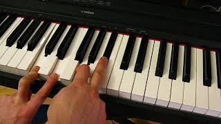 Блюзовые фишки #4 + улётный рифф [самые классные приёмы блюзового фортепиано]
