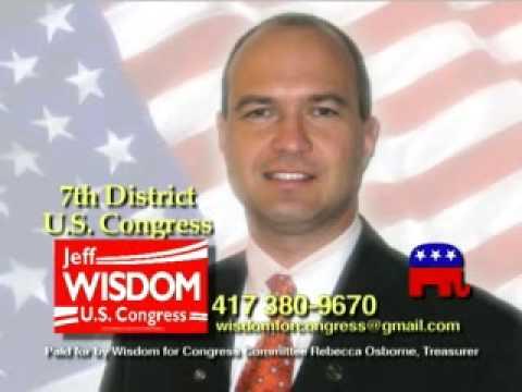 Jeff Wisdom for U.S. Congress, Missouri 7th District Revised