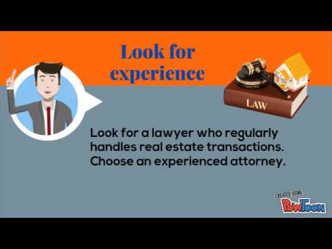 How to choose the best real estate attorney