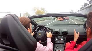 Test Drive Lamborghini Huracan Roadster in Maranello