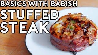 Steak Pinwheels  Basics with Babish