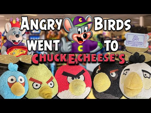 Angry Birds went to Chuck E Cheese