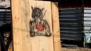 Тестирование метательных ножей из стали 65Х13(Тестирование метательных ножей из стали 65Х13 производства Семина Ю.М., г. Ворсма, видео., 2013-05-15T07:15:42.000Z)