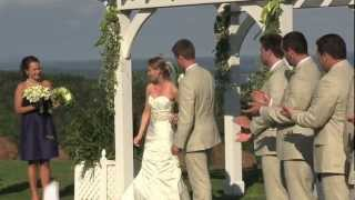 Coastal Maine Wedding Video, Point Lookout, Northport Maine Wedding Film