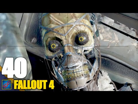 Fallout 4 Walkthrough | 40 | XMB Booster Engine & Synth Goons
