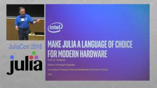 JuliaCon 2016 | Using Julia as a Quick and Dirty Code Generator | Arch D. Robison