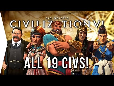 Civilization VI ► ALL 19 Civilizations - Overview & Strategi