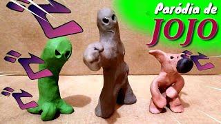 TORTURE DANCE. Paródia de JOJO  (Animação Stop-Motion Massinha)