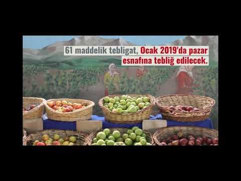 Türkiye'nin ilk ekolojik pazar komisyonu