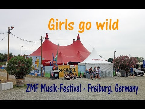 LP - Girls go wild in Freiburg, Germany (not the whole song)