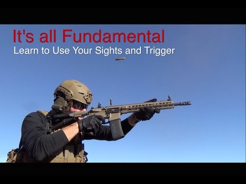 Marksmanship Fundamentals with Daniel Shaw | Sights and Trigger