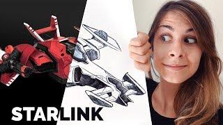 Progettare un videogioco VIRTUALE e REALE? Starlink 🐸 Fraffrog