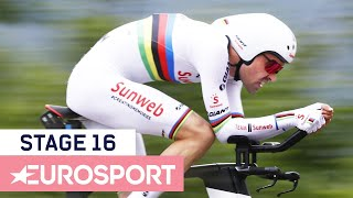 Tom Dumoulin: Time Trial Highlights | Giro d'Italia 2018 | Stage 16
