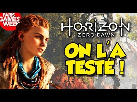 HORIZON & LES JEUX PS4 POUR 2017!