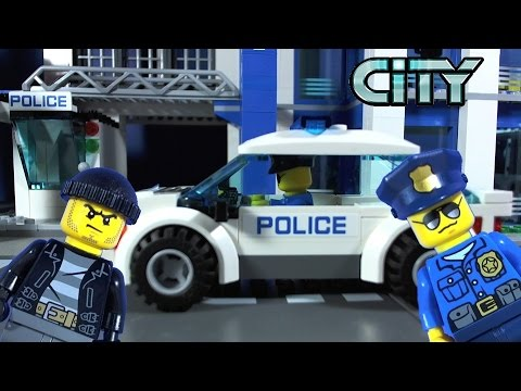 LEGO CITY High Speed Police Chase 60042 - YouTube