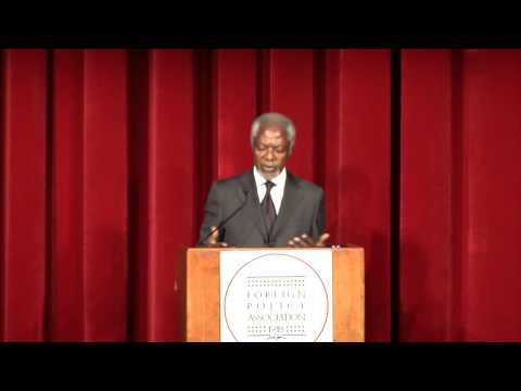 New World Disorder: Challenges for the UN in the 21st Century with Kofi Annan