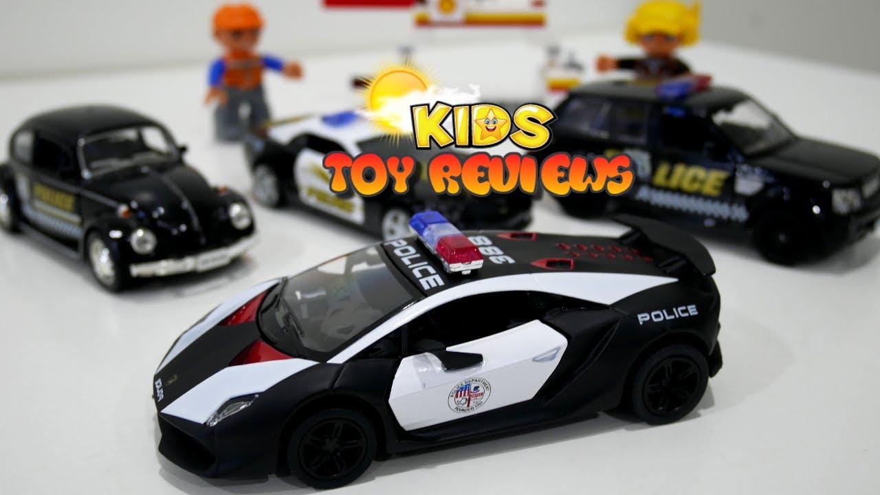 Lamborghini Police Car For Kids Unboxing Kinsmart Hk Lamborghini