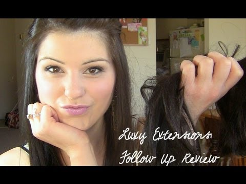 Follow up review luxy hair extensions youtube follow up review luxy hair extensions pmusecretfo Images