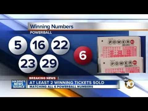 Numbers Drawn For Powerball Jackpot Winning Tickets Sold In Arizona