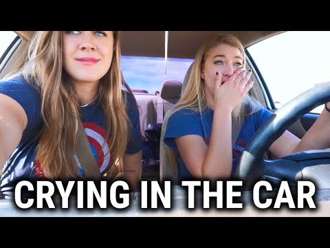Our Initial Reactions to seeing Infinity War...crying in traffic | VLOG