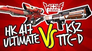 Yeni Nesil Silahlar - HKE417 Ultimate & KSZ-TC ile Combolar.. (Wolfteam)