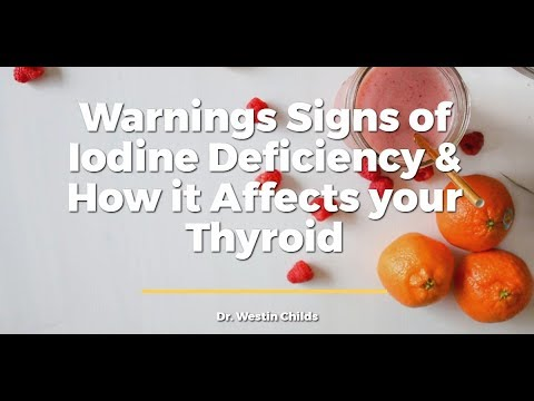 Warning Signs & Symptoms of Iodine Deficiency