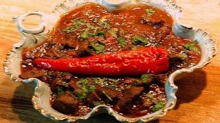 Spicy Georgian Beef Stew / Chashushuli - Ostri (restaurant recipe)