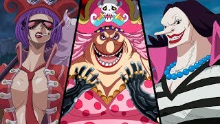 AS 10 MULHERES MAIS PODEROSAS DE ONE PIECE | Player Solo