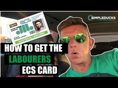How To Get The New ECS / JIB Card For Site Support Or Labourers With The SPA Core Day Course.
