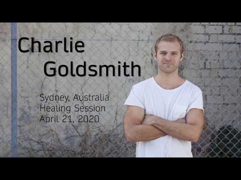 Attending The Online Healing Session Of Charlie Goldsmith