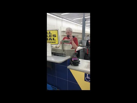 image for Grandma's Emotional Farewell to K-Mart In PA