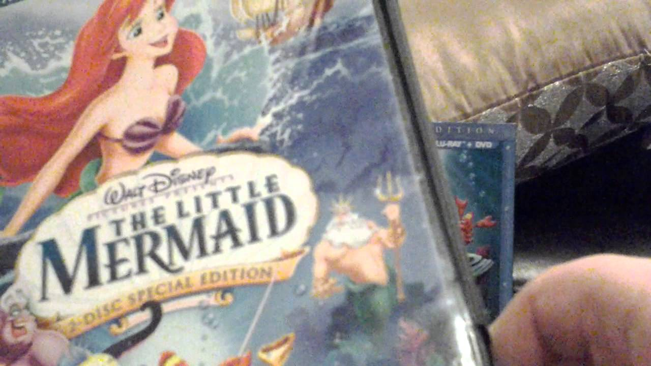 4 different versions of The Little Mermaid