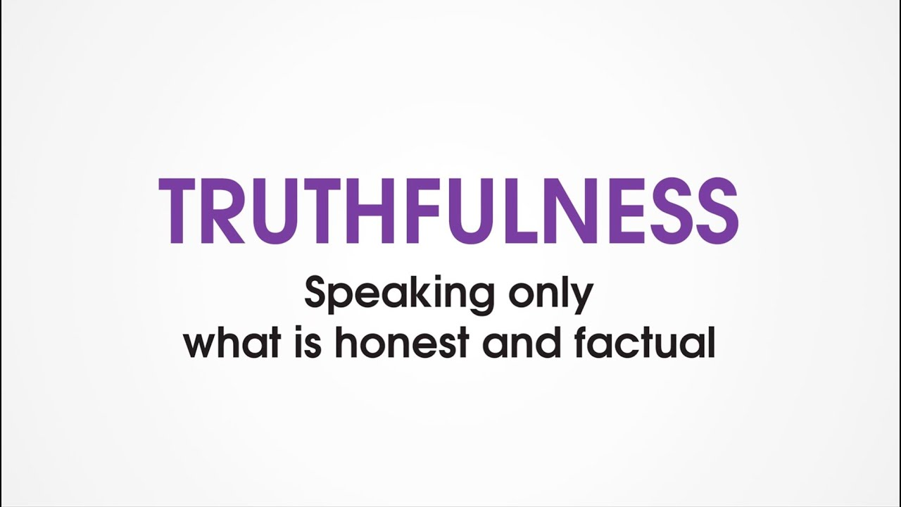 honesty and truthfulness essay Free essay: honesty and trust several decades ago i used to enjoy an occasional lunch in with the late professor g warren nutter, a distinguished economist.