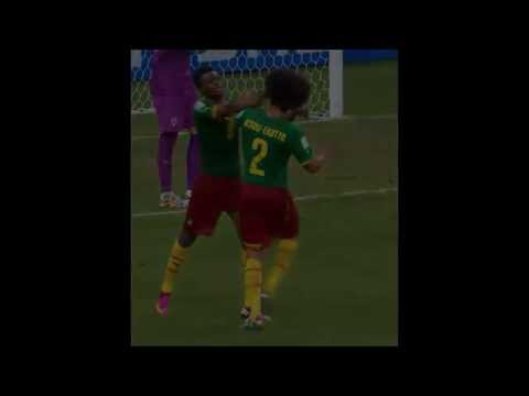 Cameroon Players Fight Ekotto vs Moukandjo - World Cup 2014
