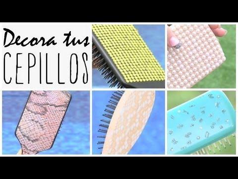 DIY: decora tus peines del cabello