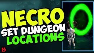 Diablo 3 Necromancer Set Dungeon Locations Rathma Tragoul Pestilence Inarius Patch 2.6 Season 11