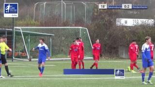 A-Junioren - FV Ravensburg vs. 1. FC Heidenheim 1846 0-2 - Denis Latifovic