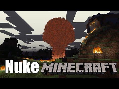 [Minecraft] My Mod Showcase #7: Test of new Nuke Explosion Effects