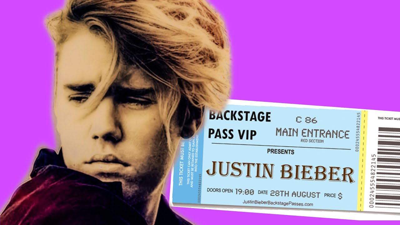 Free Justin Bieber Concert Tickets Youtube