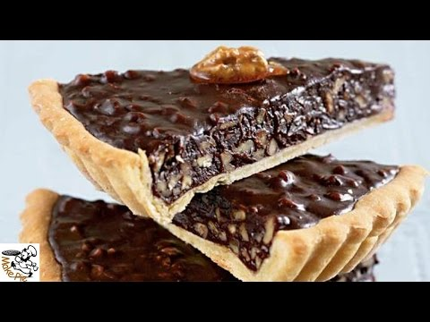 Walnut pie recipe.Pie with walnuts