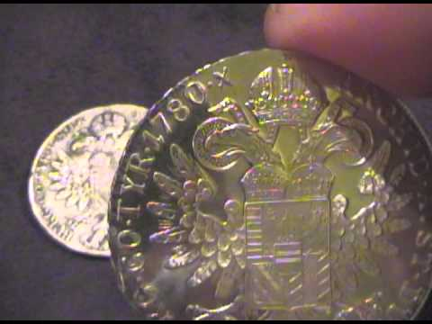 Maria Theresa Silver Thaler Dated 1780