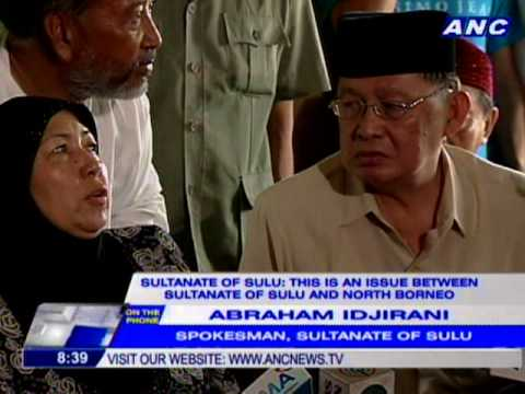 Sultanate of Sulu reacts to Palace statement