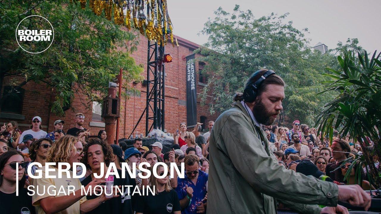 Gerd Janson Boiler Room X Sugar Mountain 2018 Dj Set Youtube