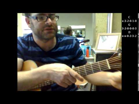 How to play One Step Ahead Of The Blues by J.J. Cale on acoustic guitar mp3