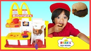 MCDONALD'S HAMBURGER MAKER & McDonald's Cash Register Toys for Kids thumbnail