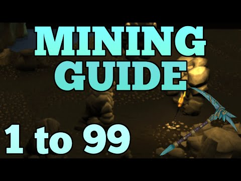 1-99 Mining Guide UPDATED Runescape 2015 - Fast XP and AFK [P2P Only]