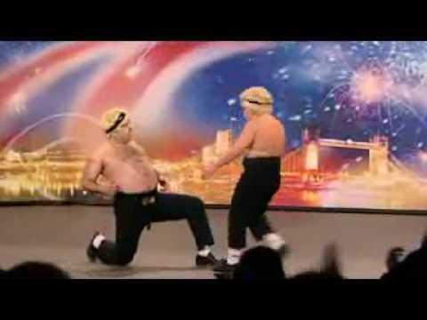 Comedy tap dance