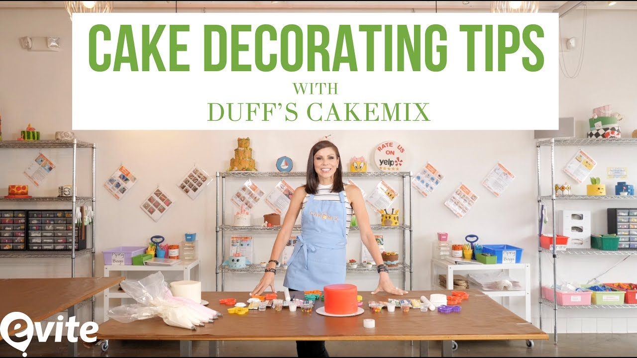 cake decorating tips with heather dubrow u0026 duff u0027s cakemix youtube