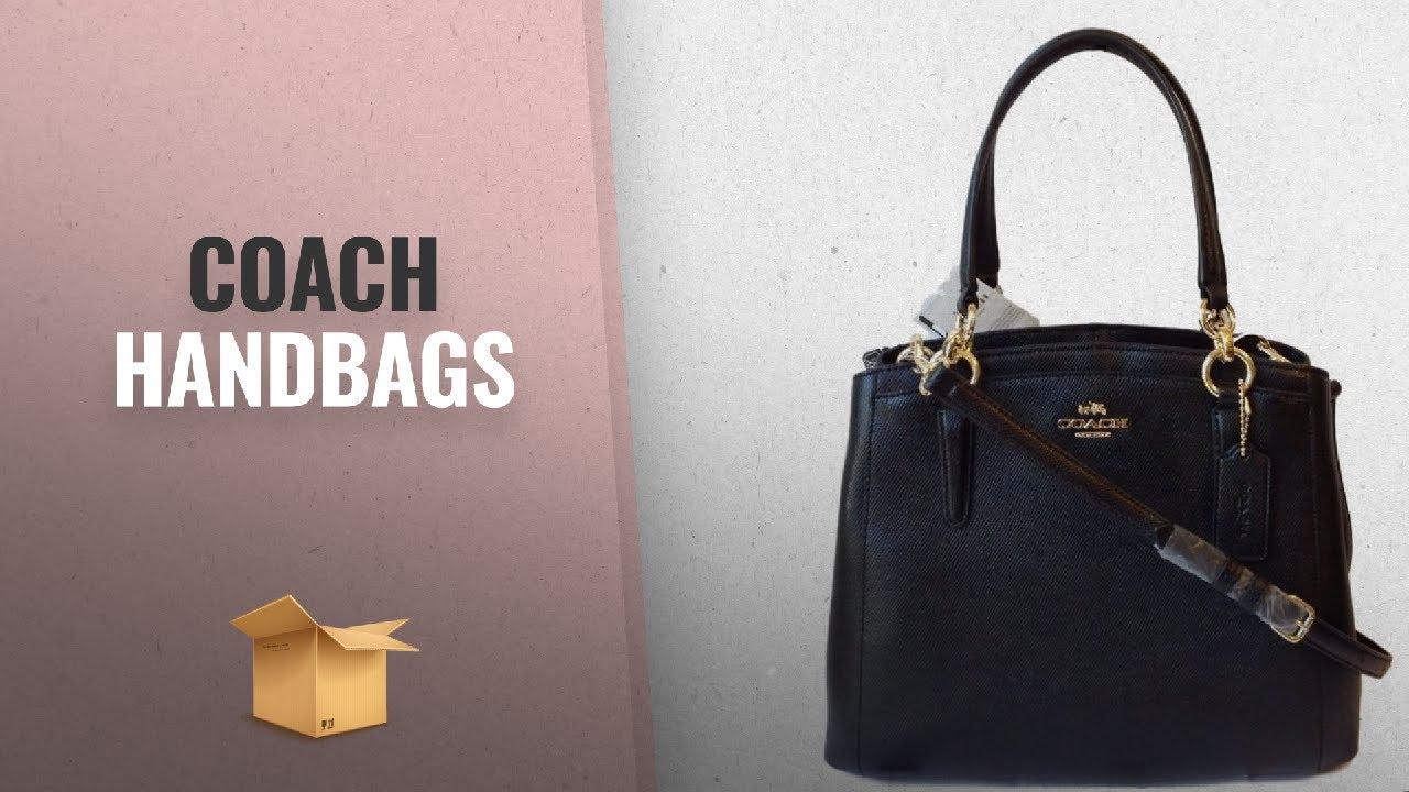 7df5cd6f36fd9 Our Favorites Coach Handbags  2018   COACH Crossgrain Leather ...